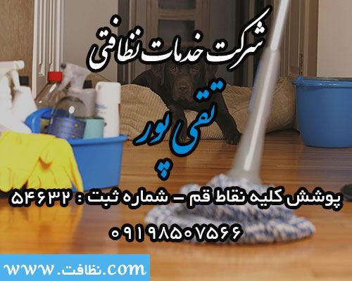 شرکت خدمات نظافتی ساختمان تقی پور