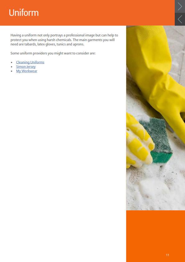 کتاب الکترونیکی چطور کسب و کار نظافتی را در عمل شروع کنیم cleaners business plan