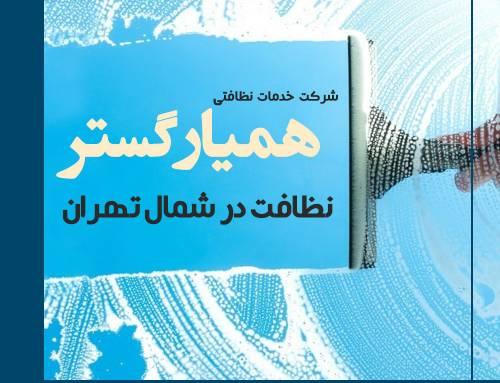 خدمات نظافت منزل شمال تهران