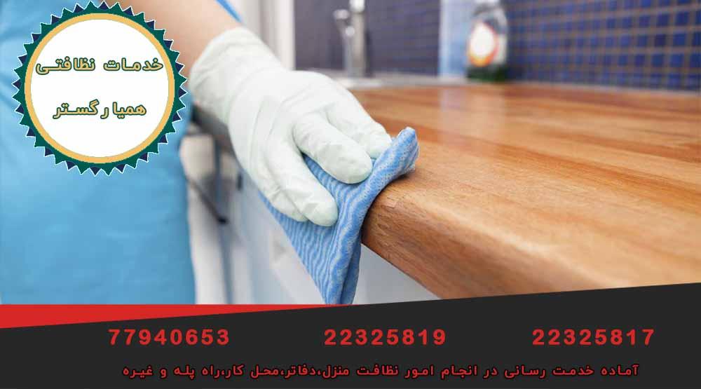 نظافت منزل در تهرانپارس