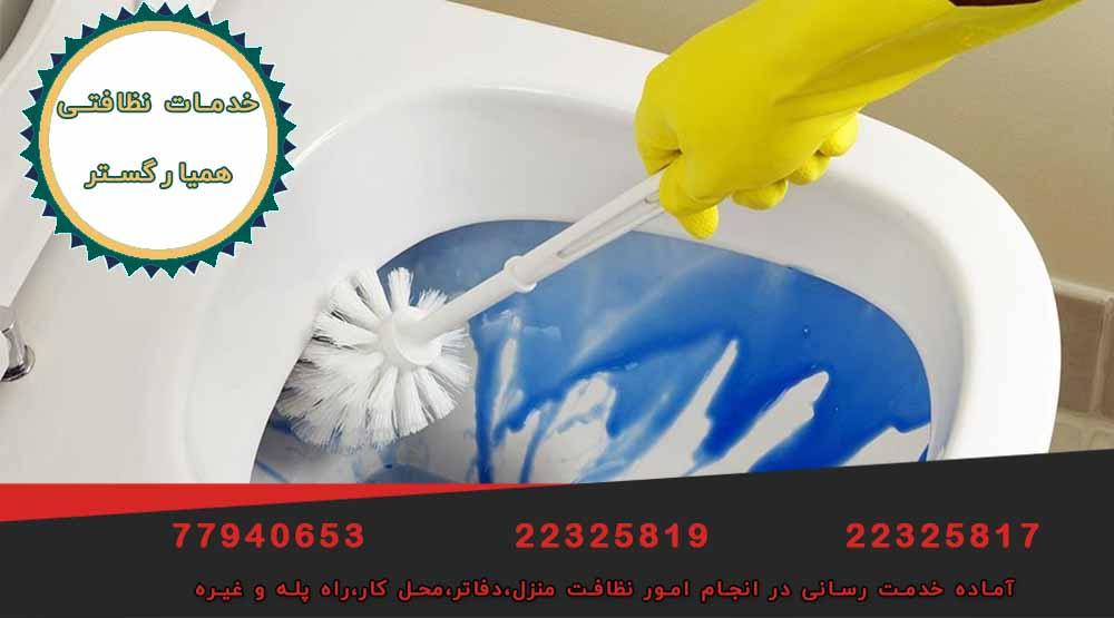 خدمات تخصصی نظافت منزل در نیاوران